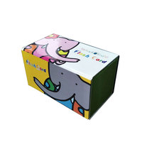 Custom strong material cardboard cute paper gift box package