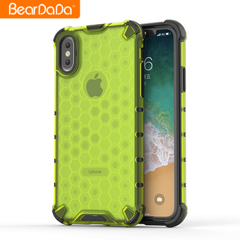Newest design tpu pc comb phone case for iPhone Xs Max mobile phone case