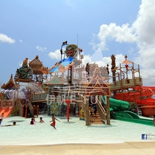 Aqua Play Rain Fortress Fun Park Commercial Playground <strong>Equipment</strong> With Fiberglass