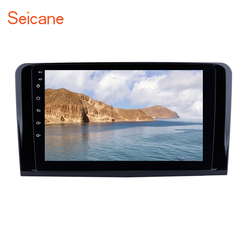 9 Inch Android 8.1 car multimedia <strong>dvd</strong> player for 2005-2012 Mercedes Benz ML CLASS <strong>W164</strong> ML350 ML430 ML450 ML500 with WIFI USB