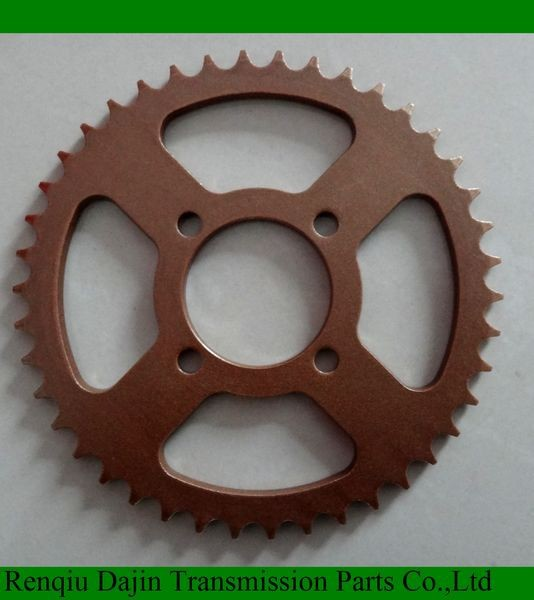 Dajin 1045 motorcycle part go kart 200cc/motorcycle parts chain sprocket/motorcycle spare parts for honda