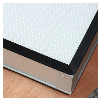 Ultra high efficiency mini pleat air filter HEPA filter mesh 100 clean bench FFU high efficiency filter