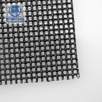 10mesh 0.9mm Black Powder Coated security mesh screen