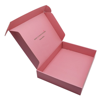 Wholesale Custom waterproof foldadble hair care product packaging shipping corrugated paper box for men's clothing