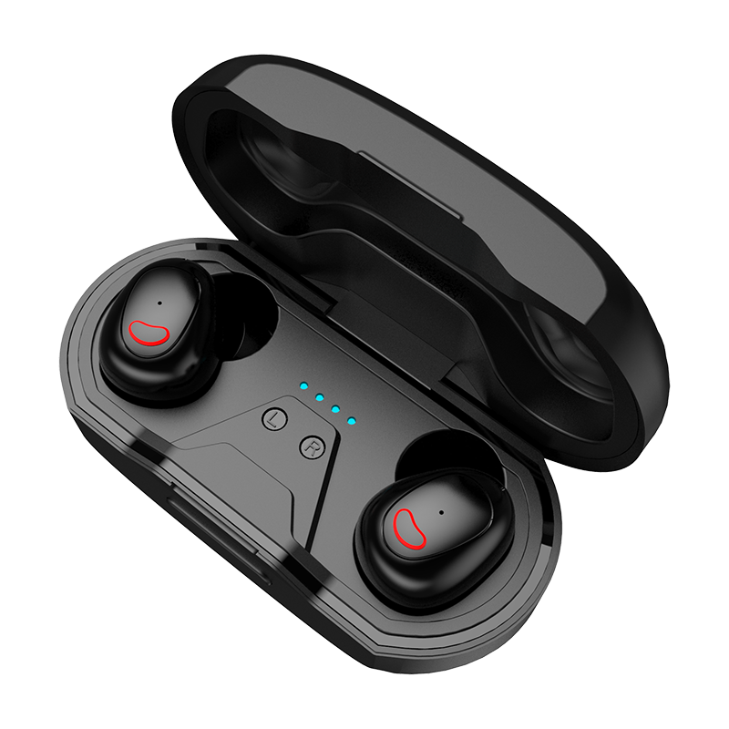 2019 hot selling TWs wireless earbuds with Charging Case <strong>Bluetooth</strong> 4.2 Touch Control tws wireless earphone