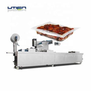 UTIEN Automatic Dates Vacuum Thermoforming Packaging Machine