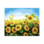 Hot seller cheap sunflower custom oil painting DIY handmade oil painting