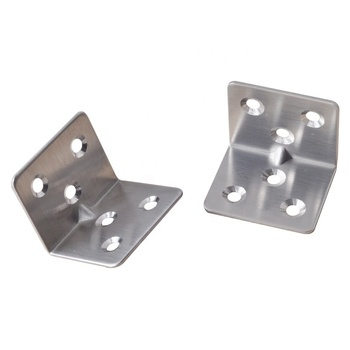 Stainless Steel Furniture Corner Connector 90 Degree Angle