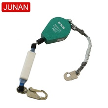 3m 5m 7m 10m 15m 20m 30m 150kgs fall arrester falling protector with buffer packet and steel swivel hook safer and durable