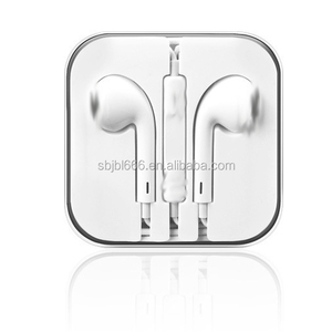 2019 HOT SALE 3.5mm Earphone Headphone with MIC for iphone samsung cell phone handsfree from shantou shenzhen factory