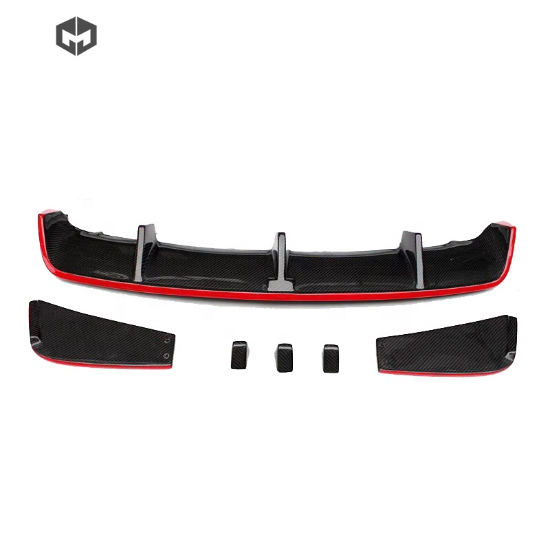 Carbon Fiber Revozport Rear Bumper Diffuser Car Accessories for Mercedes CLA-CLASS <strong>W117</strong> CLA45 AMG
