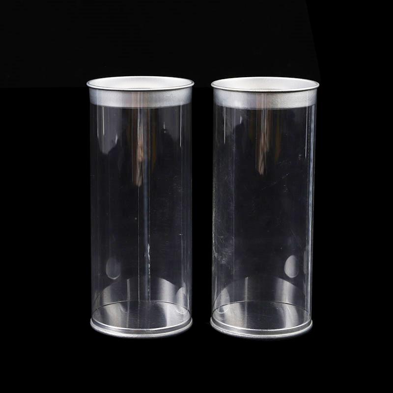 Customized Size Clear Plastic Tube Food Box Packaging With Lid Buy Clear Plastic Tube Plastic Tube Plastic Food Box Product On Alibaba Com
