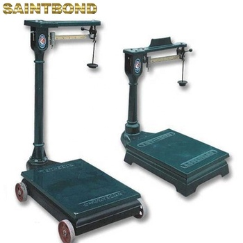 Industrial Commercial Old fashion Low-carbon Steel Scale Manual Scales with Wheels