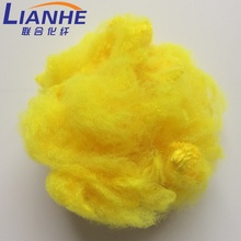 Hot <strong>Sale</strong> High Quality Cotton Polyester Staple Fiber, PET Bottles Recycle Polyester Staple Fiber