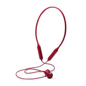 Brand new designed neck hang band wearable sports earphone with blue 5.0 tooth and IPX4 waterproof