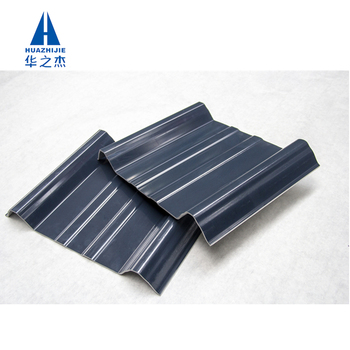 Fire resistant sound proof green material ASA roof