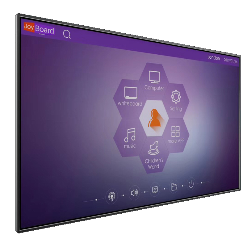 Riotouch U <strong>plus</strong> <strong>100</strong>&quot; 40 points touch Interactive panels with Android 8.0 and Win10 OS together