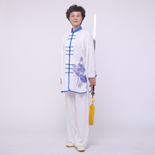 Breathable Comfortable China Traditional Kung Fu Uniforms Tai Chi Clothes For Women