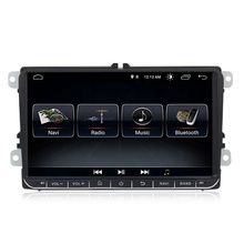 Factory 9'' 2din Android 8.1 Car Radio System For VW Magotan Golf 5 6 Touran for Tiguan Passat for Jetta Rapid Skoda Caddy CC