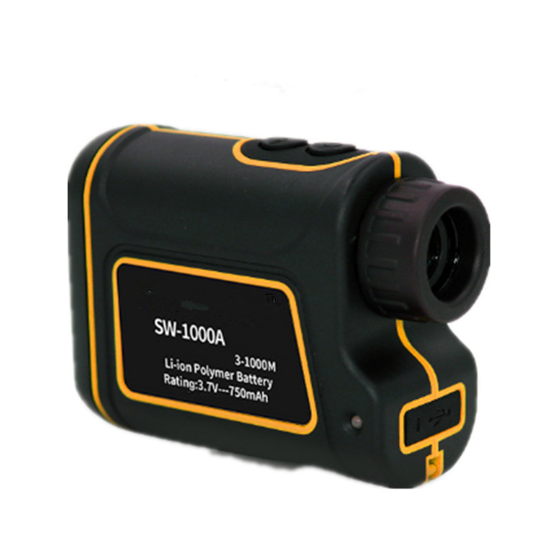 Telescope Laser Rangefinder 1000m Laser Distance Meter Monocular Golf Laser Distance Meter Local Return Outdoor