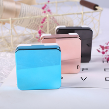 High quality reflective Cover Luxury Contact Lens Case Eye Color Contact Lenses case Container Cute Lovely Travel kit box Women