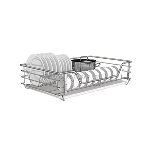 Custom Multi-functional Soft-close Kitchen Cabinet Accessories Slide Pull-out Wire basket