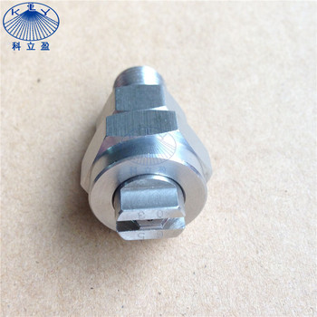 "1/4"" stainless steel T type flat spray nozzle"