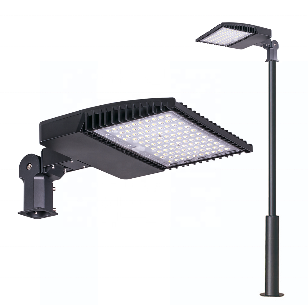 dlc etl long life span aluminum outdoor lighting dimmable led street light