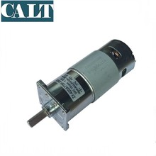 Micro DC Gear Motor 25W Small Motor 12V High Torque Low Speed Positive Reverse Speed <strong>10</strong> 30 55 110 250 360 630 955 RPM ZX-42GA775