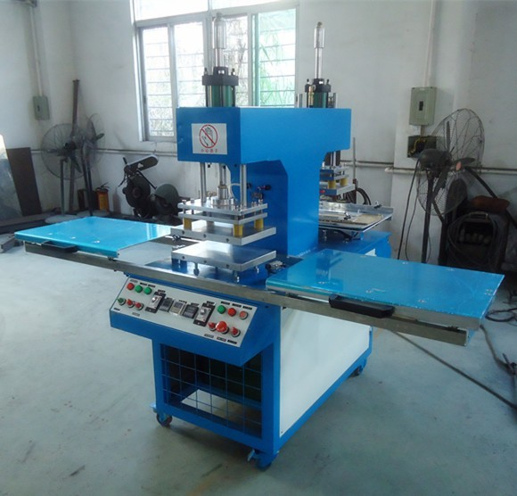 colorful silicone fabric logo making machine