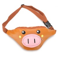 2019 Waterproof Pig Style Funny Kids Waist Bag, Lovely Cute Kids Fanny Pack