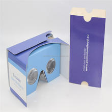 Branded cardboard <strong>vr</strong> <strong>3D</strong> <strong>glasses</strong> Google Cardboard V2 google cardboard <strong>vr</strong> <strong>glasses</strong> for smartphone
