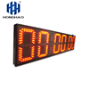 Large outdoor waterproof race timer led digital countdown timer sports match clock