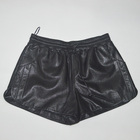 Ladies real leather Adjustable waist circumference women hot shorts short pants