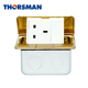 Standard Grounding electrical and data floor electric plug socket box