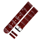 New Style Wholesale Custom LOGO Leather Watch Band Watch Strap