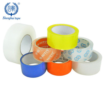 Water Based On Acrylic Glue Box Bag Adhesive Tape Bopp Packing