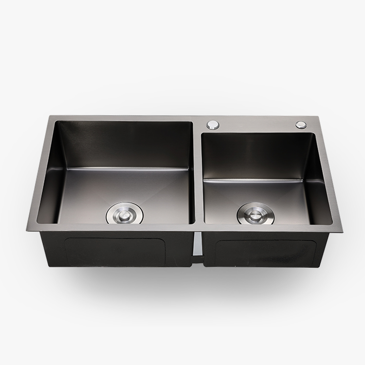 wholesale nano black surface handmade stainless steel double bowl rh alibaba com kitchen sink wholesale suppliers in delhi kitchen sink wholesale suppliers in delhi