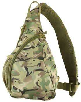 600D Polyester Military Outdoor Cobra Sling Bag 12 Litre with Utility Pouch