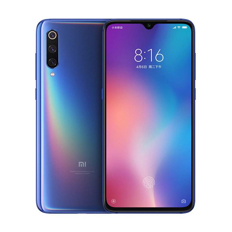 original New global version Arrival Xiaomi 9 Smartphone 4G <strong>Mobile</strong> Phone 128GB Mi 9 Cell Phone xioami mi9
