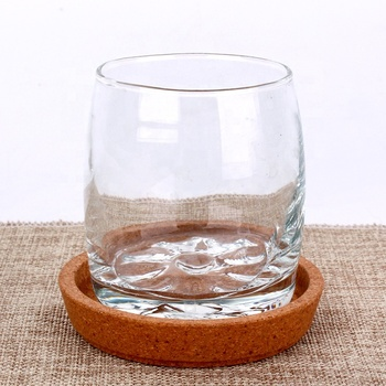 200ml  Elegant beautiful clear crystal  glass water cup