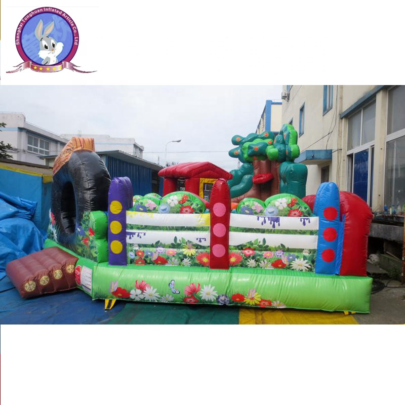 commercial hot sale inflatable air jumping castle for kids