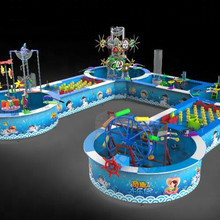 Wholesale water game for kids water park equipment with CE certificate