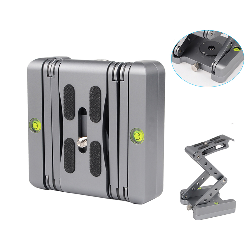 VGEET quick release plate aluminum mount universal arca swiss ball head for camera tripod