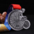 China Manufacturer 3d cycling achievement  medallions /unique medal