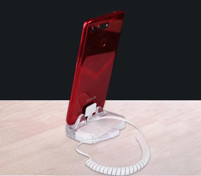 Retail display security solutions for cell phone anti theft alarm stand for mobile shops - ANKUX Tech Co., Ltd