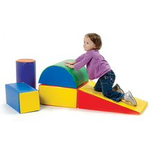 Climb and Crawl Foam Play Set for Toddlers and Preschoolers
