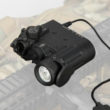 Tactical Flashlight Aiming Laser Red <strong>w</strong>/IR LED Illuminator Class 1 GZ15-0088