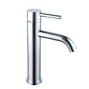 2019 China manufacturer wholesalers brass basin bathroom faucets high taps quality tall sanitary ware water mixer tap