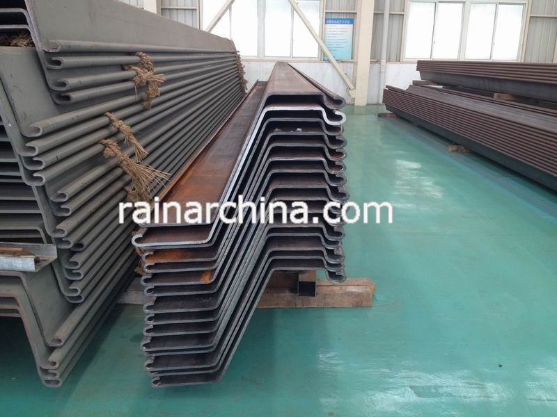 hot rolled /cold rolled proformed z type sheet pile thyssenk type sheet piling